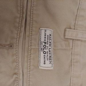 Mens Ralph Lauren Tan shorts
